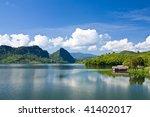 View Of Mae Kaung Dam  Chiang...