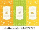 vector packaging template with...   Shutterstock .eps vector #414022777