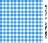Blue Seamless Gingham Pattern
