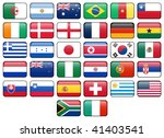 world cup 2010 rectangular... | Shutterstock . vector #41403541