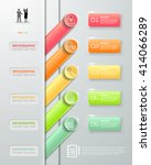design infographic template 5... | Shutterstock .eps vector #414066289