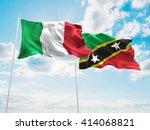 3d illustration of italy  ... | Shutterstock . vector #414068821