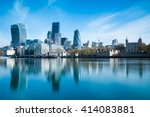 skyscrapers of the city of... | Shutterstock . vector #414083881