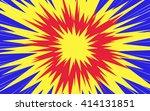 sun rays or star burst element... | Shutterstock .eps vector #414131851