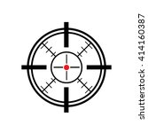 sight icon   Shutterstock .eps vector #414160387
