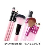 some different kind of make up... | Shutterstock . vector #414162475