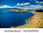 beautiful view of the coastline ... | Shutterstock . vector #414165901