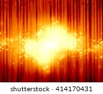 red stage background | Shutterstock . vector #414170431