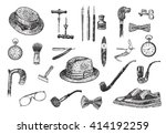 victorian era collection ... | Shutterstock .eps vector #414192259