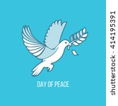 international day of peace. the ... | Shutterstock .eps vector #414195391