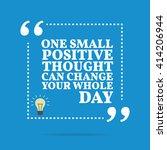 inspirational motivational... | Shutterstock .eps vector #414206944