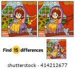 find differences  education... | Shutterstock .eps vector #414212677