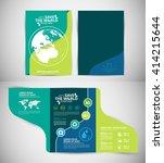 ecology brochures | Shutterstock .eps vector #414215644