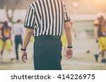 american football referee. | Shutterstock . vector #414226975