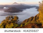 view on mount bromo landscape... | Shutterstock . vector #414253327