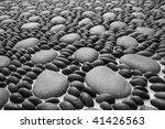 zen stones background white and ... | Shutterstock . vector #41426563