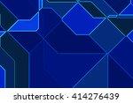geometric design background | Shutterstock . vector #414276439