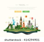 illustration of flat design... | Shutterstock . vector #414294901