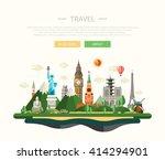illustration of flat design...   Shutterstock . vector #414294901