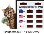 currency exchange rate.... | Shutterstock . vector #414319999