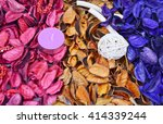 Colorful Of Potpourri With...