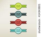 vintage elements set | Shutterstock .eps vector #414343801