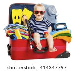 Baby Travel Vacation Suitcase....