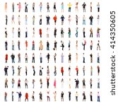 workforce concept achievement... | Shutterstock . vector #414350605