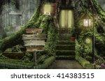 Fairy House  Stump   ...