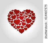 heart logo | Shutterstock .eps vector #414407575
