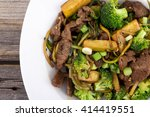 asian beef and broccoli stir...