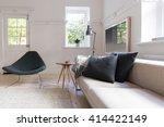 horizontal of luxury neutral... | Shutterstock . vector #414422149