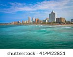 durban north beach waterfront | Shutterstock . vector #414422821