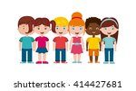 back to school design  | Shutterstock .eps vector #414427681