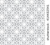 arabic seamless pattern | Shutterstock .eps vector #414432541