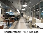 interior of a restaurant in the ... | Shutterstock . vector #414436135