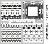 vector blanks for frames ... | Shutterstock .eps vector #414447895