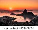 Golden Sunrise Over Guanabara...