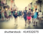 festival event with blurred... | Shutterstock . vector #414532075