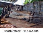 Statue Recumbent Buddha Temple...