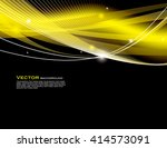 abstract shiny background.... | Shutterstock .eps vector #414573091
