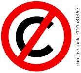 Altered Symbol Of Copyright...