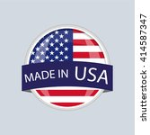 made in usa | Shutterstock .eps vector #414587347
