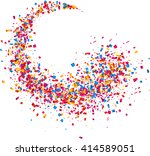 white abstract background with... | Shutterstock .eps vector #414589051