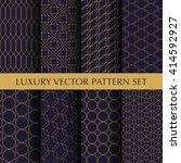 luxury vintage vector patterns... | Shutterstock .eps vector #414592927