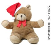 Teddy With Christmas Hat