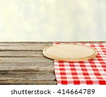 background with wooden table... | Shutterstock . vector #414664789