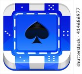 casino poker chip vector 3d...