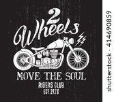 custom motorcycle t shirt... | Shutterstock .eps vector #414690859