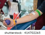 blood donation  blood... | Shutterstock . vector #414702265